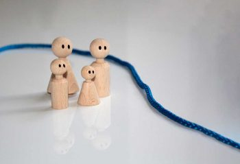 Familie Konflikte Streit Timeline